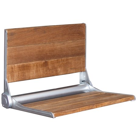 Folding Shower Bench Modern Finished 100 Teak Wood