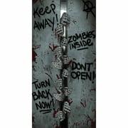 Breakout Zombie Door Cover Halloween Decoration