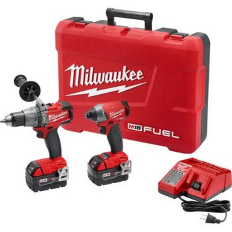 M18 Fuel Hammer Dr W/Impact MILWAUKEE ELECTRIC Cordless M...