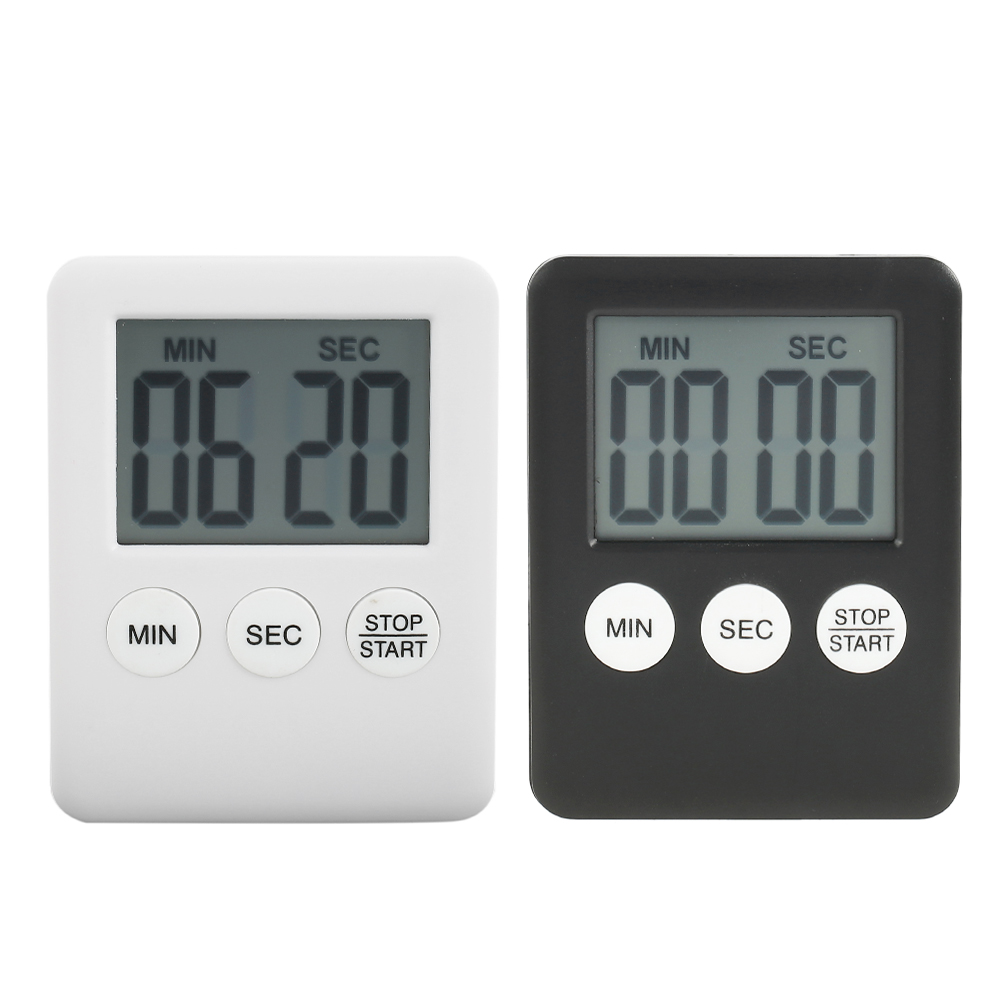 Kitchen Egg Cooking Count Down Up Large Clock Stopwatch Alarm Timer Digital LCD