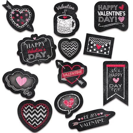 VALENTINES DAY CHALK REWARD - Diy Stickers