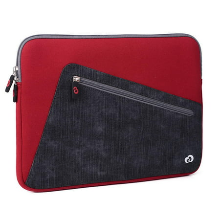 Slim Neoprene Protective Laptop & Tablet Sleeve, Water Resistant Cover Case for MacBook, Microsoft Surface, Chromebook (13