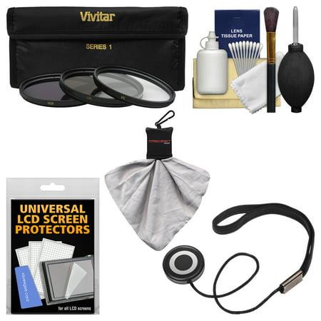 Essentials Bundle for Nikon 24-120mm f/4 G VR AF-S ED Zoom-Nikkor Lens with 3 (UV/CPL/ND8) Filters + Accessory Kit