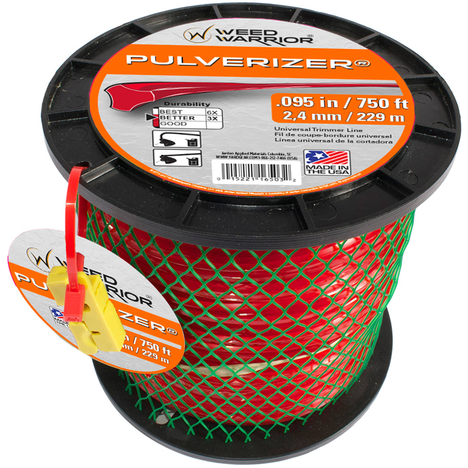 Weed Warrior Replacement Trimmer Line, .095, 3 lb Spool
