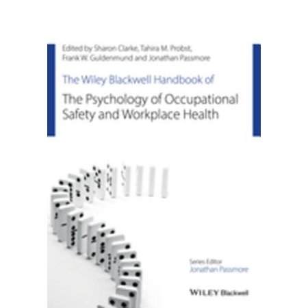 The Wiley Blackwell Handbook of the Psychology of Occupational Safety and Workplace Health - (The Wiley Blackwell Handbook Of Family Psychology)