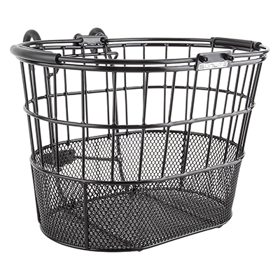BASKET SUNLT FT WIRE/MESH OVAL L/O STD BK w/BRACKET