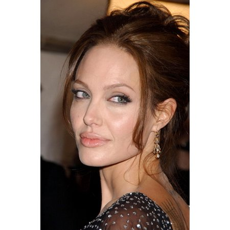 Angelina Jolie At Arrivals For Premiere Of The Good Shepherd Ziegfeld Theatre New York Ny December 11 2006 Photo By Kristin Callahaneverett Collection Photo Print