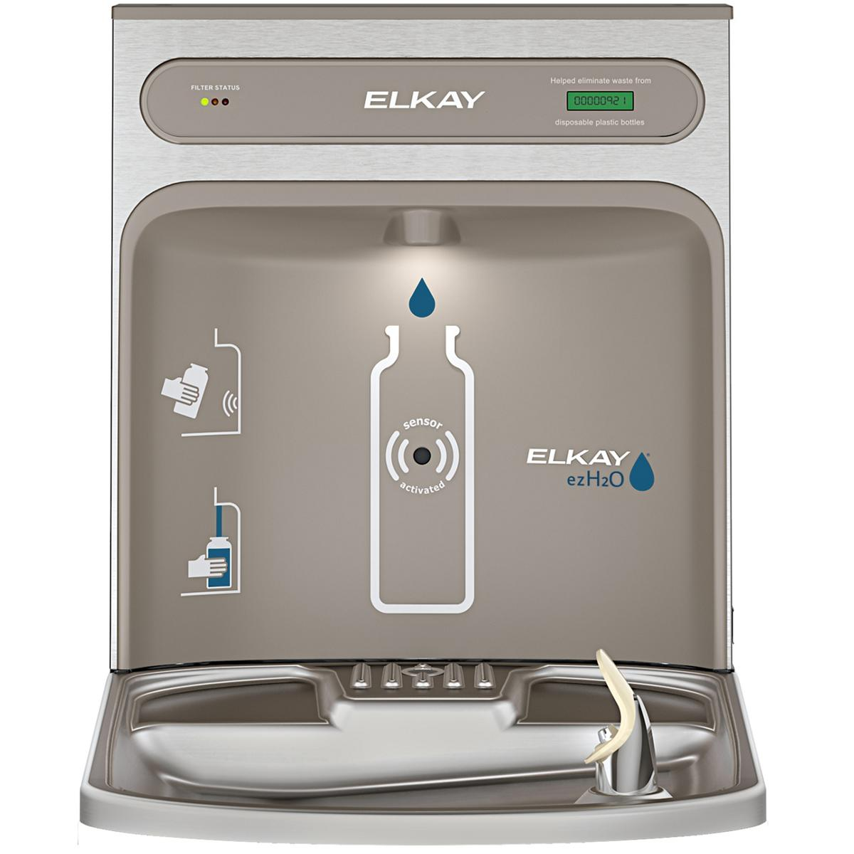 Elkay EZH2O RetroFit Bottle Filling Station Kit, Filtered Non-Refrigerated Stainless Steel