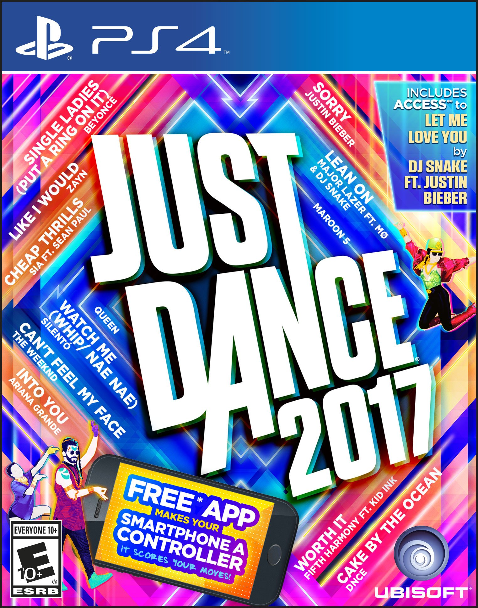 Just Dance 2017 for PlayStation 4 by Ubisoft