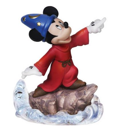 Precious Moments Disney Sorcerer's Apprentice Mickey Figurine 151709
