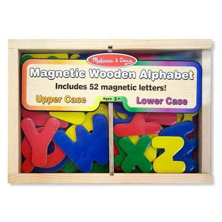 Magnetic Wooden Alphabet](Magnetic Alphabet)