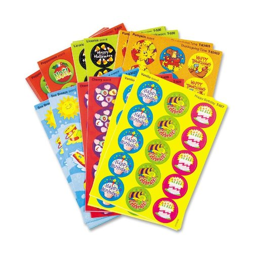Trend Stinky Stickers Seasons & Holidays Stickers - 432 Varied - Paper - Multicolor (T580)