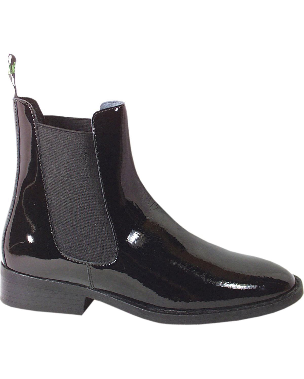 Smoky Mountain Women's Jodhpur Patent 6006 Leather Paddock Boot - 6006 Patent f2e84b