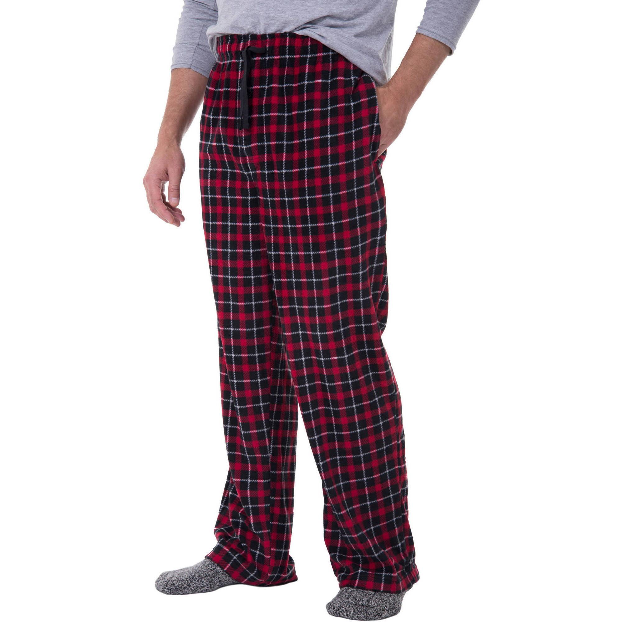 bec30f1add Fruit of the Loom - Men s Flannel Sleep Pant - Walmart.com