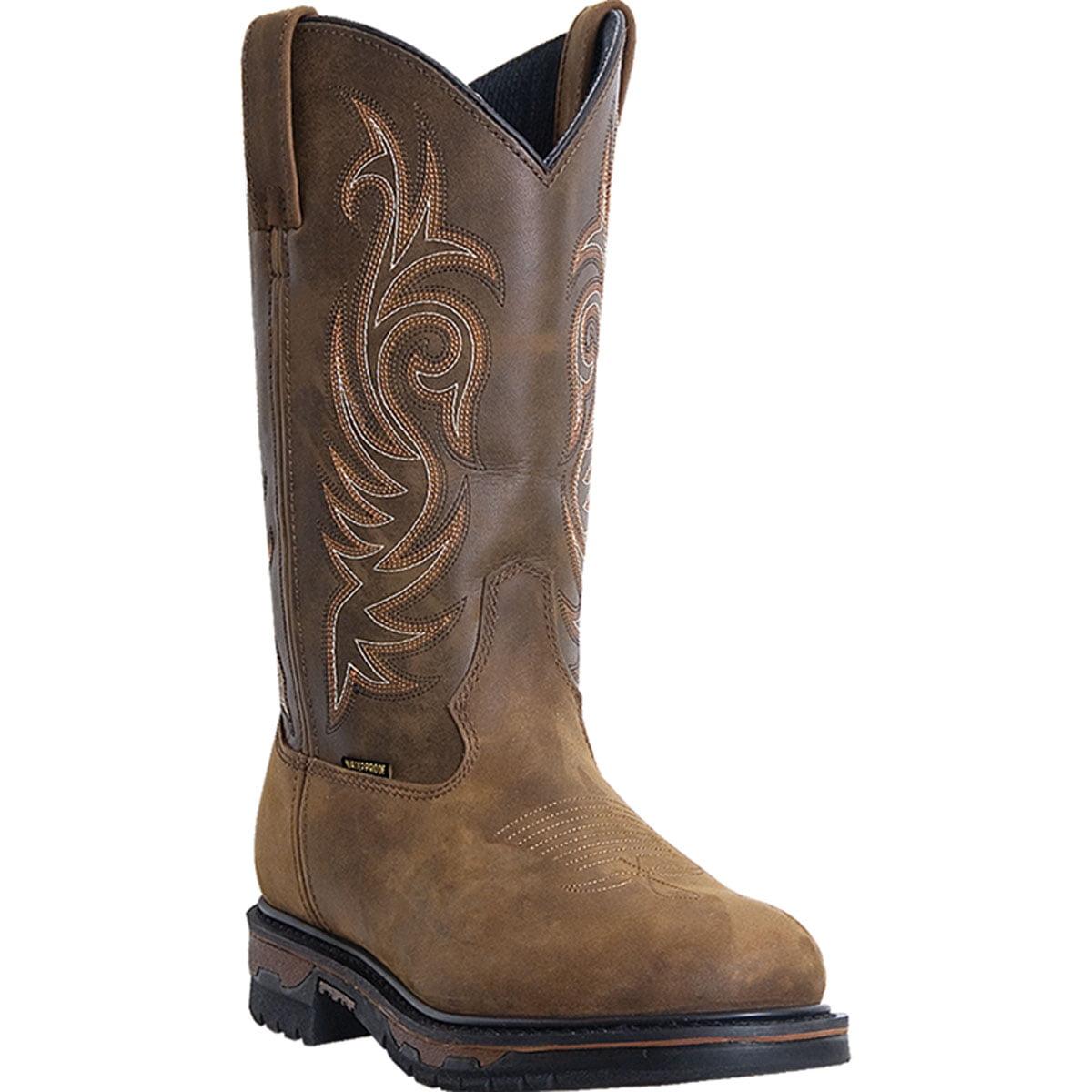 Laredo Men's Hammer-Steel Toe Waterproof Tan Cheyenne 68132 Boot by Laredo