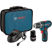 Factory-Reconditioned Bosch PS31-2A-RT 12V Max Lithium-Ion 3/8 in. Cordless Drill Driver Kit (2 Ah) (Refurbished)