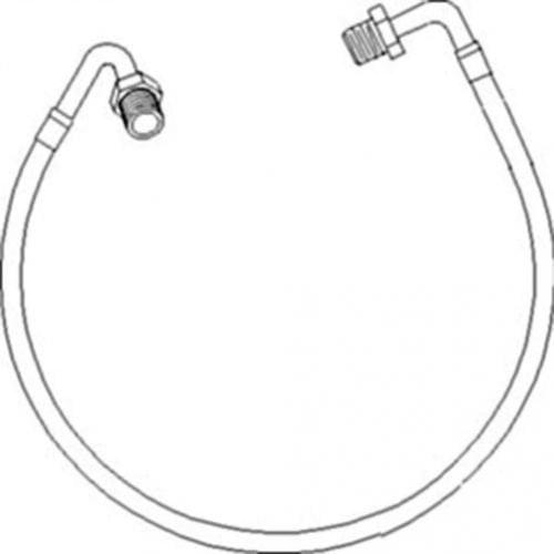 Turbocharger Supply Hose New Case Ih J918562 White 71367996