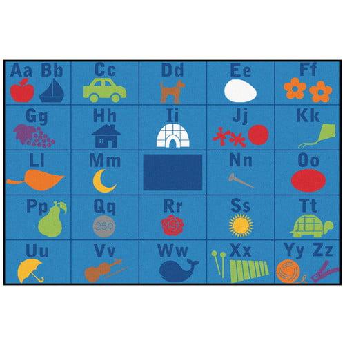 Alphabet Seating KID$ Value PLUS Rug - 8' x 12'