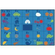 Carpets for Kids Value Plus Alphabet Seating Area Rug