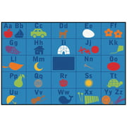 Carpets for Kids Value Plus Alphabet Seating Area Rug