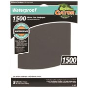 Ali 690941 Waterproof Sanding Sheet, 9 x 11 in., 1500 Grit