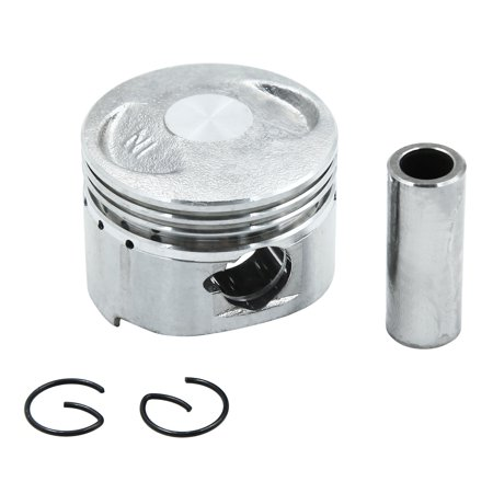 Silver Tone Engine Part Motorcycle 43.5mm Bore Piston Kit for GY6-60