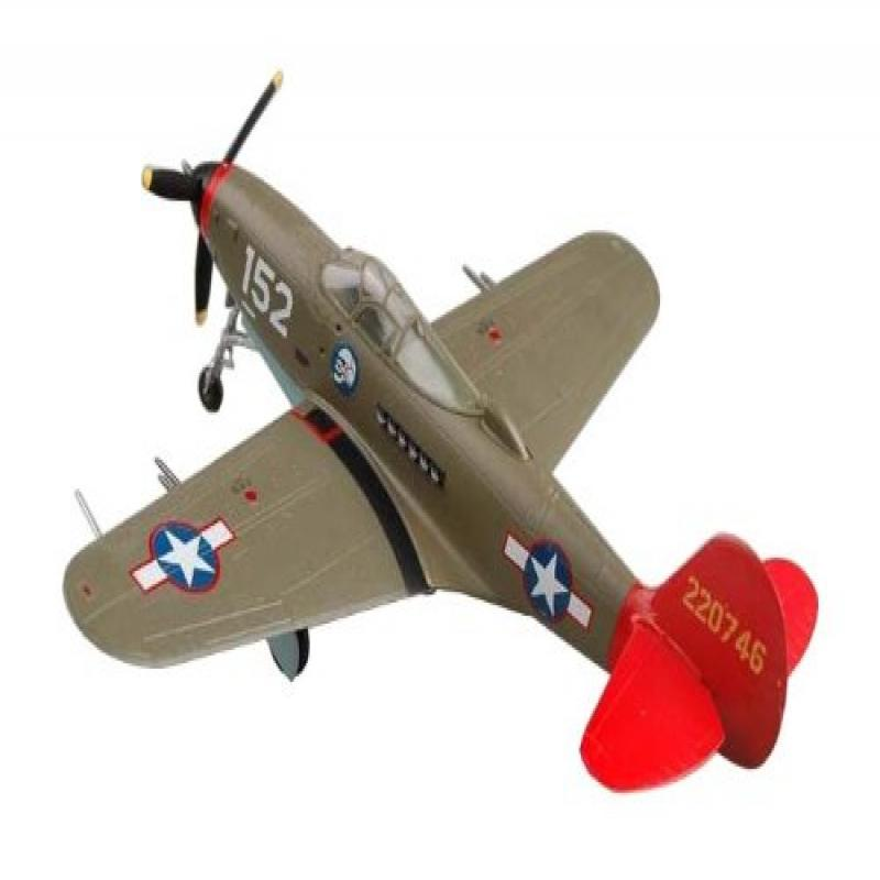 "Easy Model P-39 Aircobra ""Red Tails"" Building Kit"