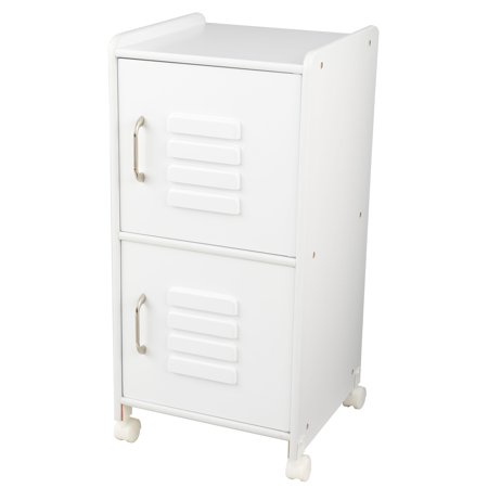 - KidKraft Medium Locker - White