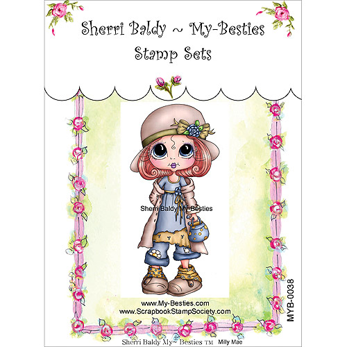 "My Besties Clear Stamps 4"" x 6"", Milly Mae Sentiments"