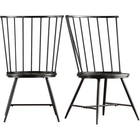 Chelsea Lane High Back Windsor Side Chair Set Of 2 Multiple Colors
