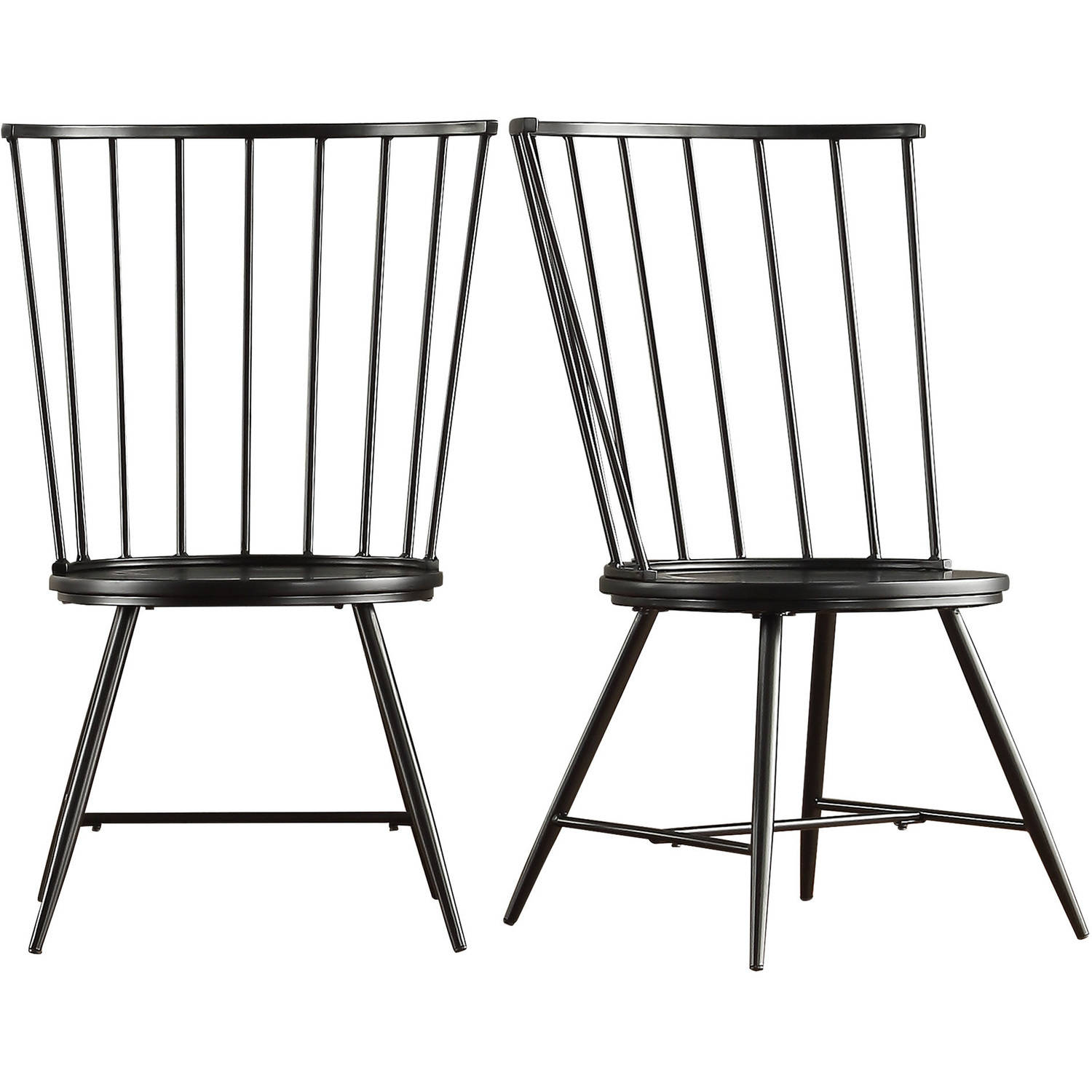 Chelsea Lane High Back Windsor Side Chair , Set Of 2, Multiple Colors