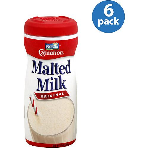 Carnation Original Malted Milk, 13 oz (Pack of 6)