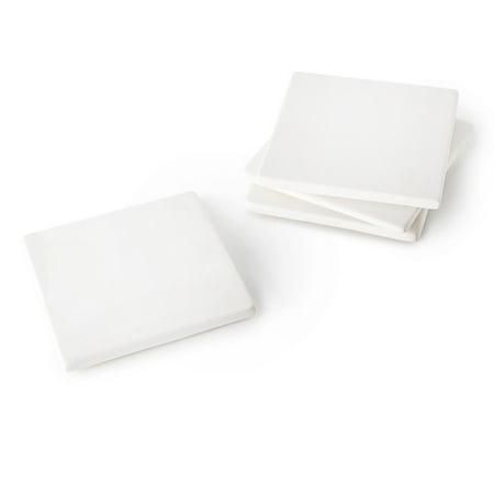Darice Ceramic Coaster: Square, 4 x 4