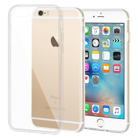 Crystal Skin Cover - For iPhone 7 Case Soft Gel Ultra Thin Crystal Clear Protective TPU Skin Cover