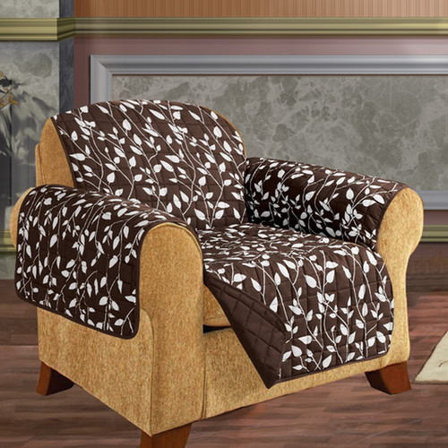 ELEGANT COMFORT Box Cushion Armchair Slipcover