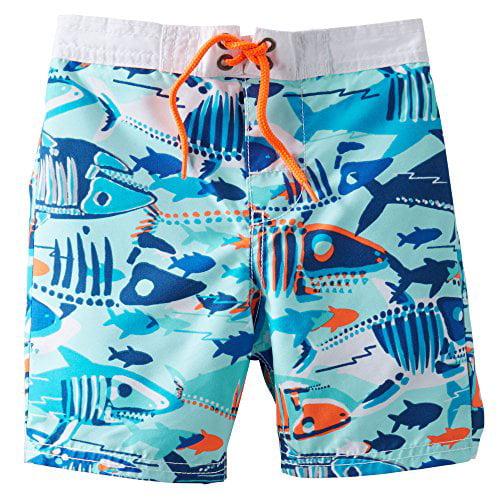 OshKosh BGosh Baby Boys Creatures Swim Trunks