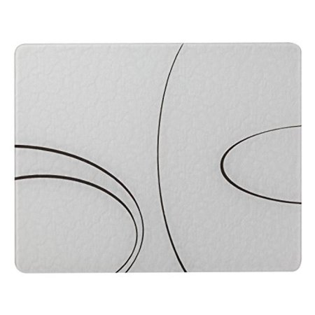 Corelle Simple Lines 15 X 12 inch Counter Saver Tempered Glass Cutting Board, 91512SLH