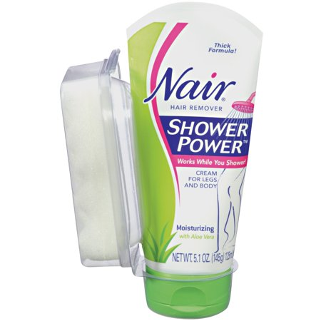 Moisturizing Hair Remover - Nair® Shower Power™ Moisturizing Hair Remover 5.1 oz Tube