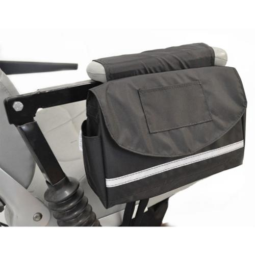 """Deluxe Mobility Saddlebag for Power Chairs, Scooters, and Wheelchairs 10"""" x 8"""" x 3"""""""