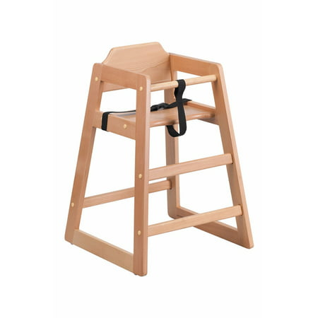 Karma Baby Stackable Wooden High Chair With Adjustable