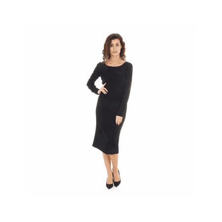 Dolce & Gabbana ladies dress F6QR7T FURDV N0000 Black 42 IT - 6 (Dolce & Gabbana Cotton Dress Shirt)