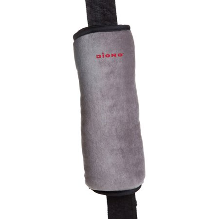 Diono Seat Belt Pillow, Gray/Black