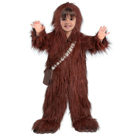 Classic Star Wars Premium Toddler Chewbacca Halloween Costume (Chewbacca Costume Rental)