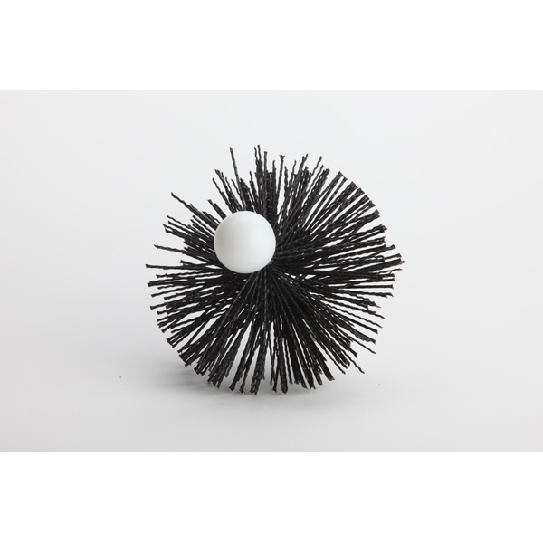 "4"" Dryer Vent Brush W/Female Buttonlok End"