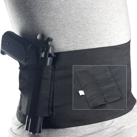Windaze Belly Band Holster for Concealed Carry Elastic Hand Gun Holder For Pistols