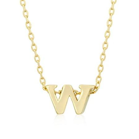 Golden Initial W Pendant - image 1 de 1