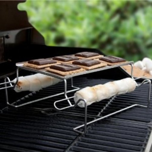 Charcoal Companion SS Smores Roasting Rack CC3112 Multi-Colored