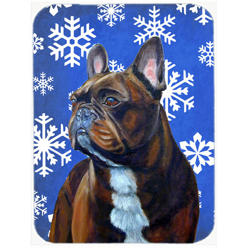 The Holiday Aisle Ashlynn French Bulldog Glass Cutting Board