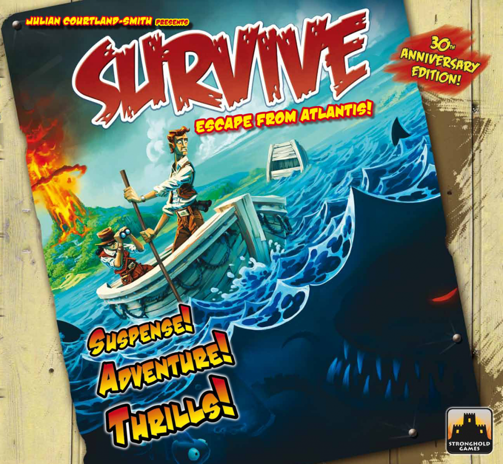 Survive Escape From Atlantis: 30th Anniversary Edition