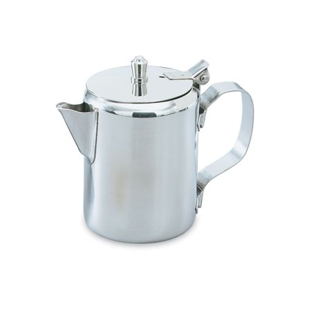 Creamer Dish - Vollrath 46516 Stainless Steel 10 Ounce Creamer with Lid